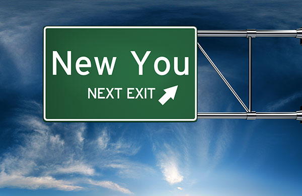 New You Next Exit sign